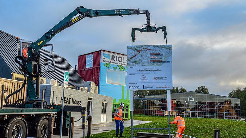 Projectborden Groningen Wegwijsrent